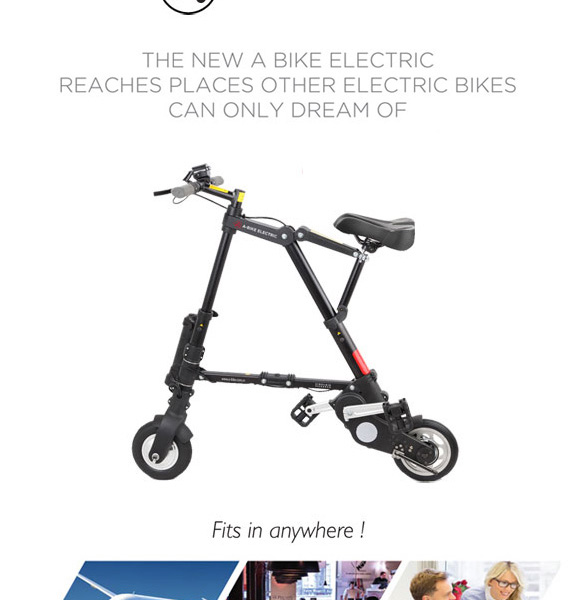 A-bike electric 電動アシスト(エーバイク)